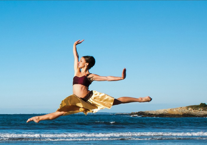 : Island Moving Co. dancer Lauren Difede. Photo: David Lee Black.