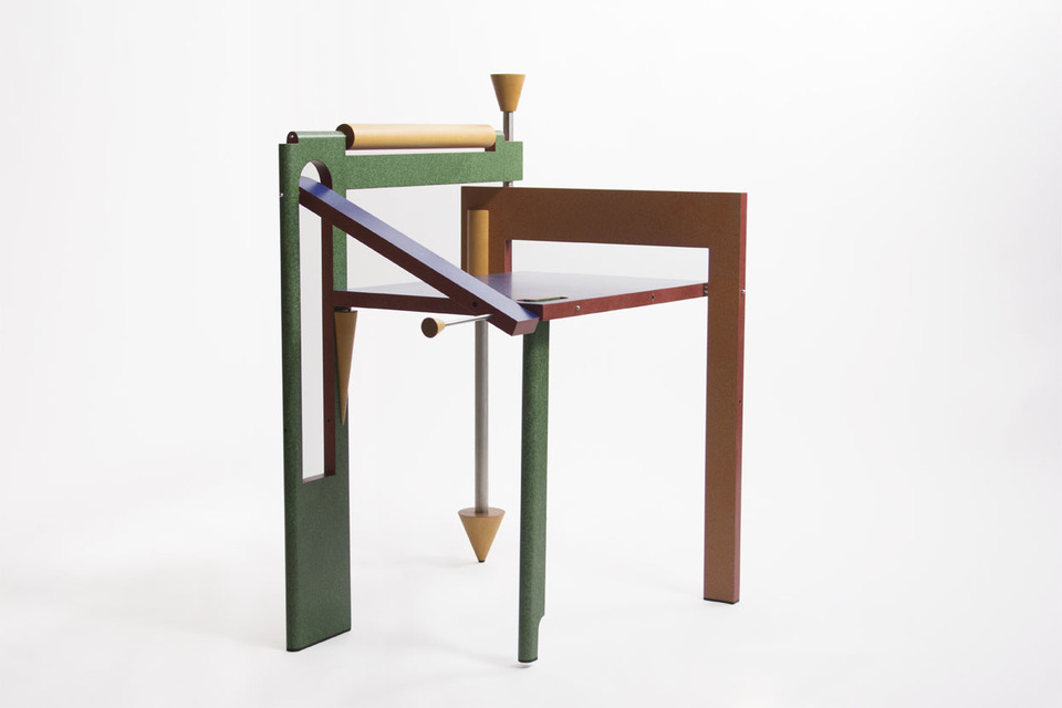 Tom Loeser Folding Chair 1988 Maple Baltic Birch Plywood Stainless Steel Enamel Paint Photography By Alex